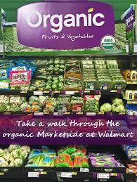 Walmart organic counter