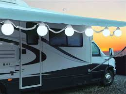 RV outdoor lights