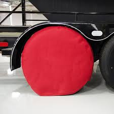 RV wheel cover
