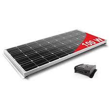 Caravan solar panel kit