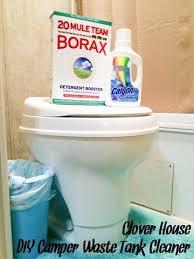 Caravan toilet cleaner