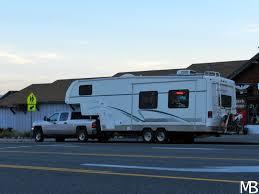 Towing caravan