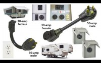 How to plug in an RV using dog bones