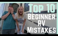 Beginner RV mistakes