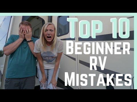 Beginner RV mistakes