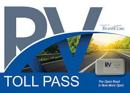 Transcore toll pass
